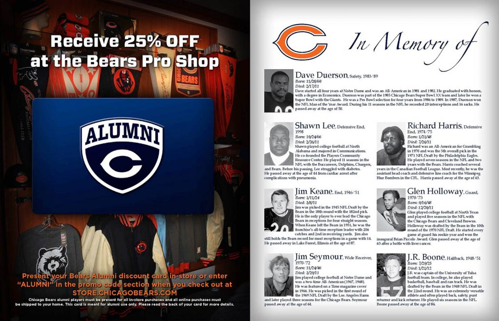 Chicago Bears Club Offer Code