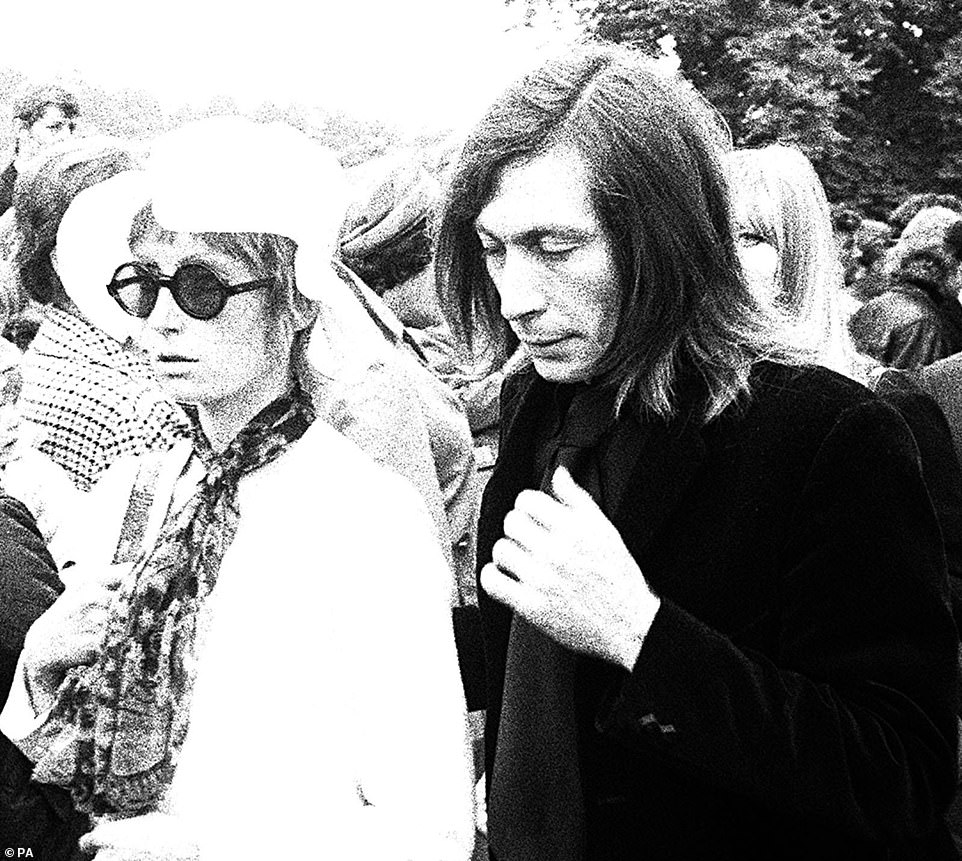 Charlie Watts Wife And Daughter
