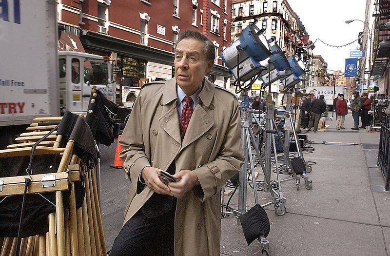 Detective Briscoe Played By Jerry Orbach